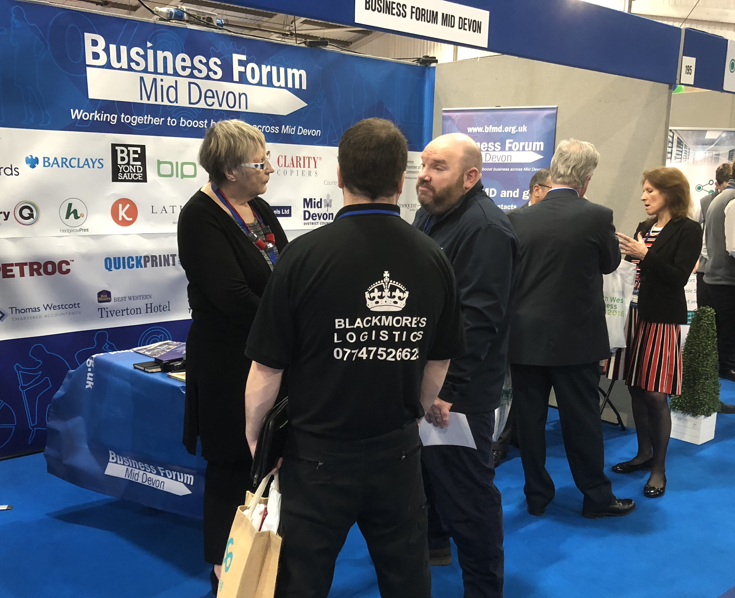 BFMD stand at South West Business Expo 2018